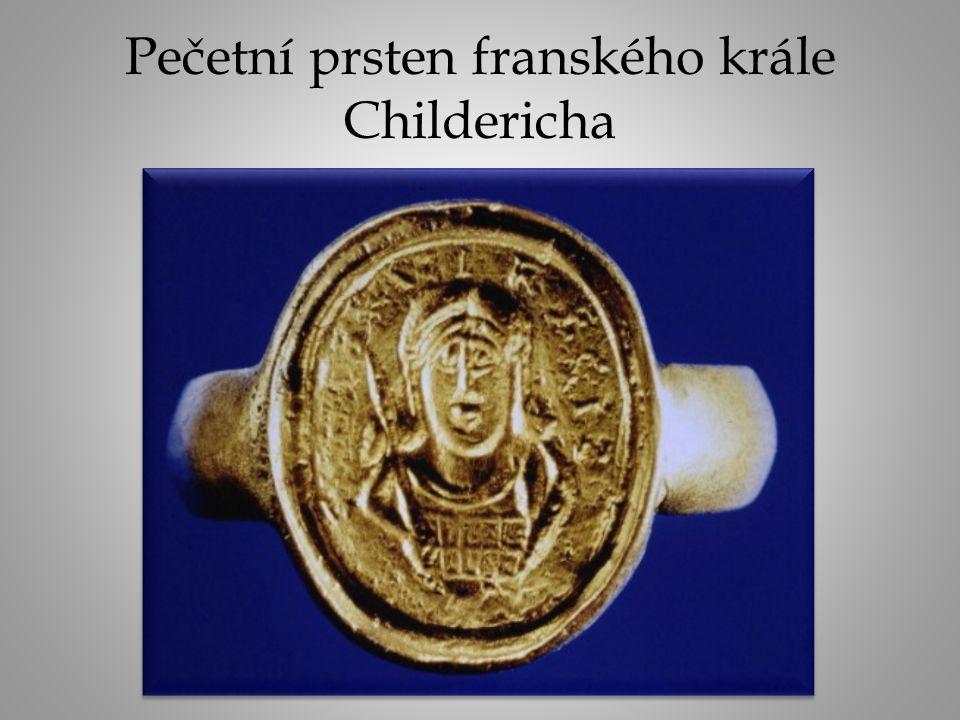 Pečetní prsten franského krále Childericha