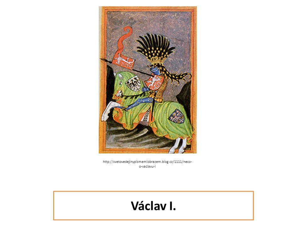 1205 – 1253 doba vlády 1230 - 1253 Otec – Přemysl Otakar I.Sestra – sv.