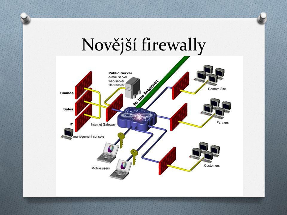 Novější firewally