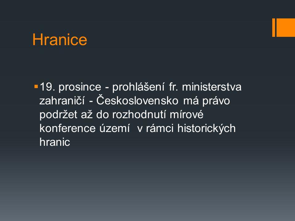 Hranice  19.prosince - prohlášení fr.