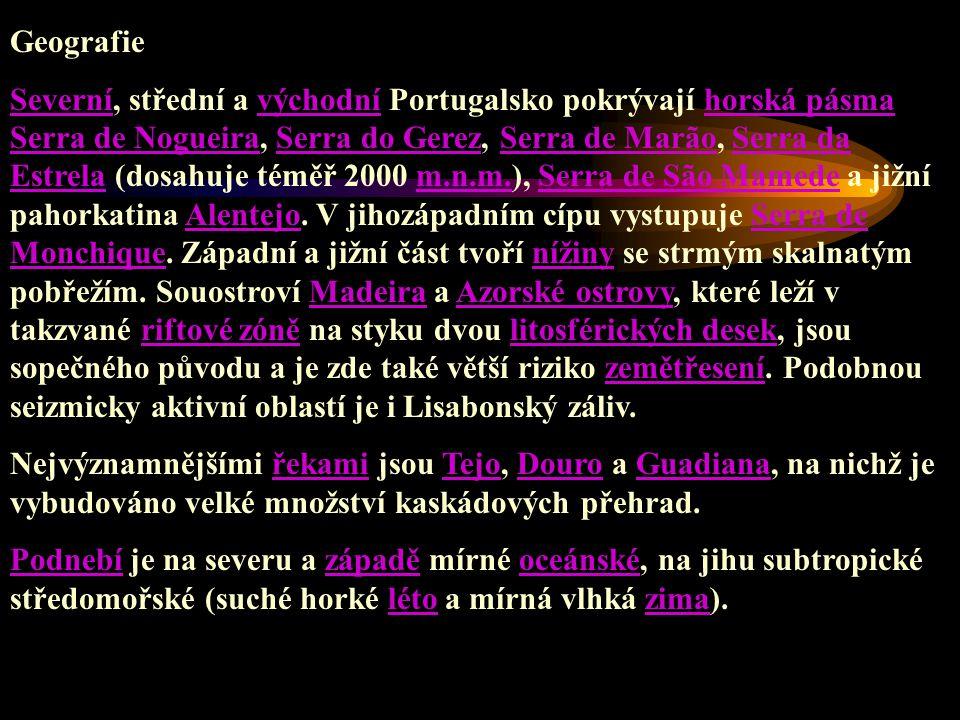 Kultura V průběhu posledních 3 000 let se v Portugalsku vystřídalo mnoho civilizací.Své stopy zde zanechala fénická, řecká, keltská, kartaginská, římská i arabská kultura.V 15.