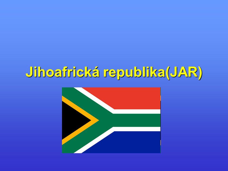 Jihoafrická republika(JAR)