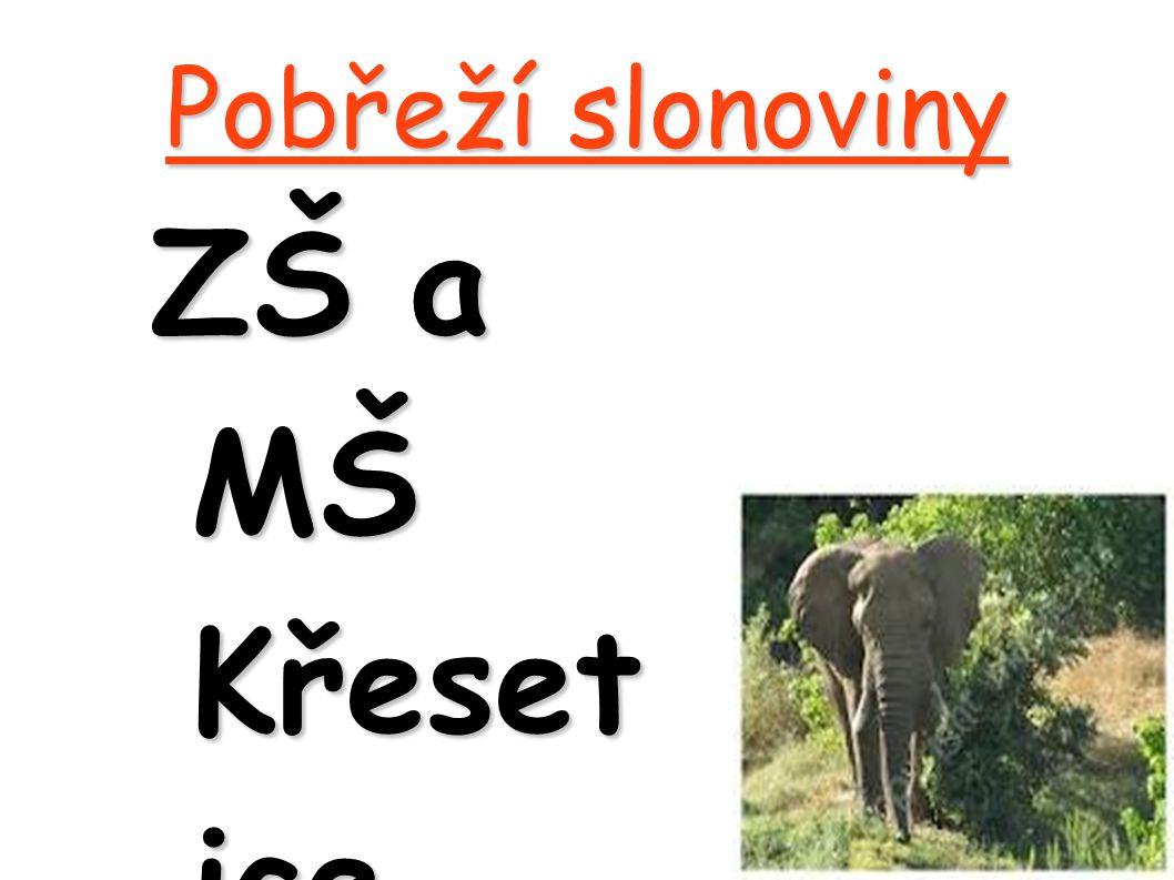 Pobřeží slonoviny ZŠ a MŠ Křeset ice Únor 2012 Vyprac ovali: Martin Zelený Kristýn a Linhar tová Filip Novák