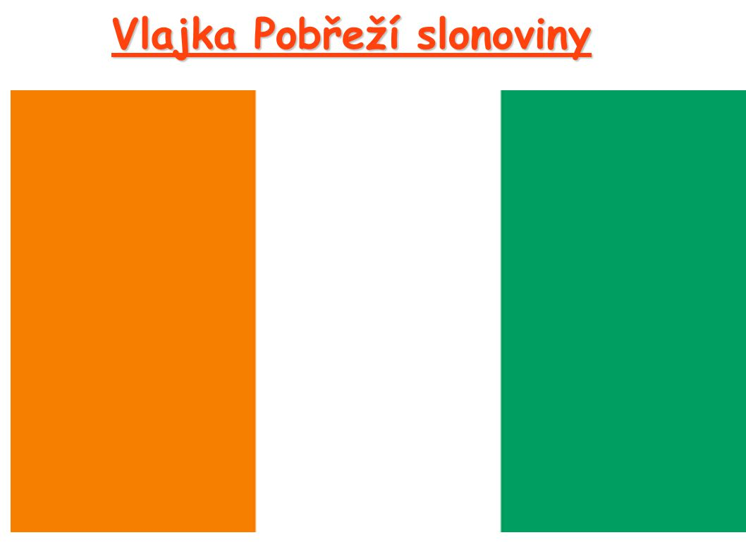 Vlajka Pobřeží slonoviny