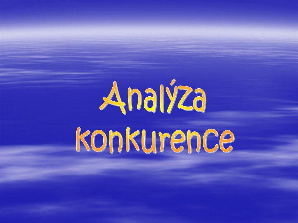  Úkol: Po shrnutí analýzy konkurence navrhněte opatření pro ZOO Krále Jelimána tak, aby tato ZOO byla dlouhodobě konkurenceschopná