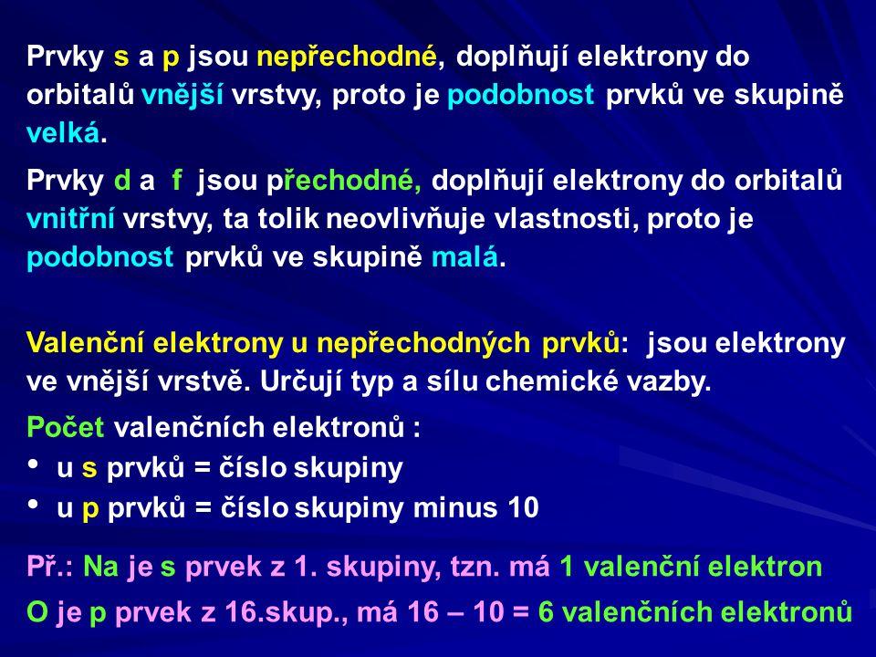 Vzácné plyny – prvky 18.skupiny.Jsou chemicky stálé.