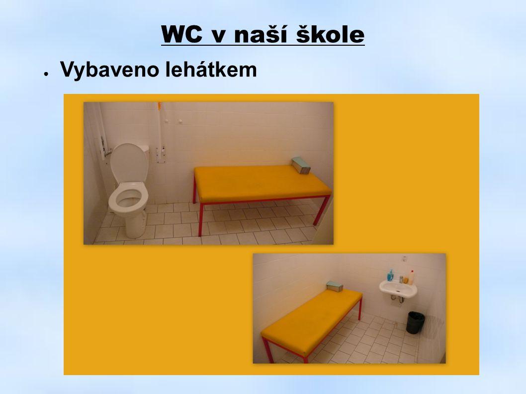 WC v naší škole ● Vybaveno lehátkem