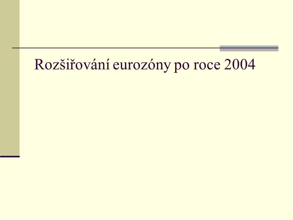 Rozšiřování eurozóny po roce 2004
