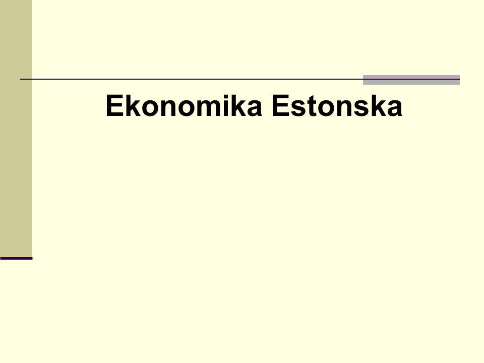 Ekonomika Estonska
