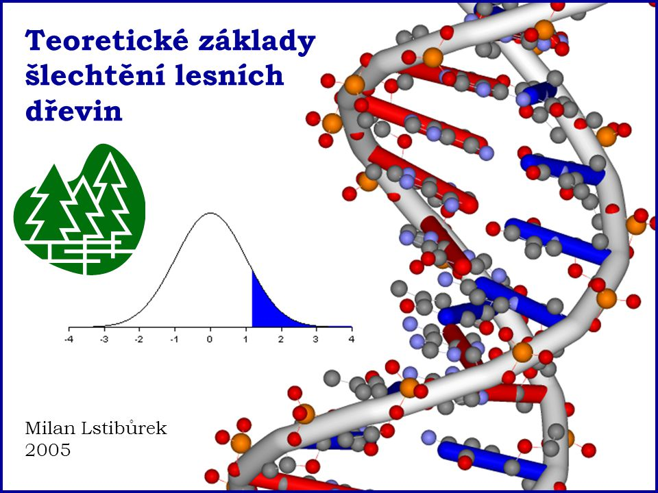 Teoretické základy šlechtění lesních dřevin Milan Lstibůrek 2005