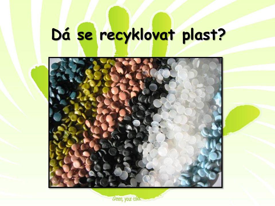 Dá se recyklovat plast?