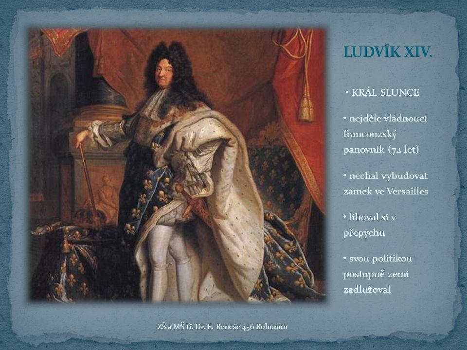 pravnuk Ludvíka XIV.