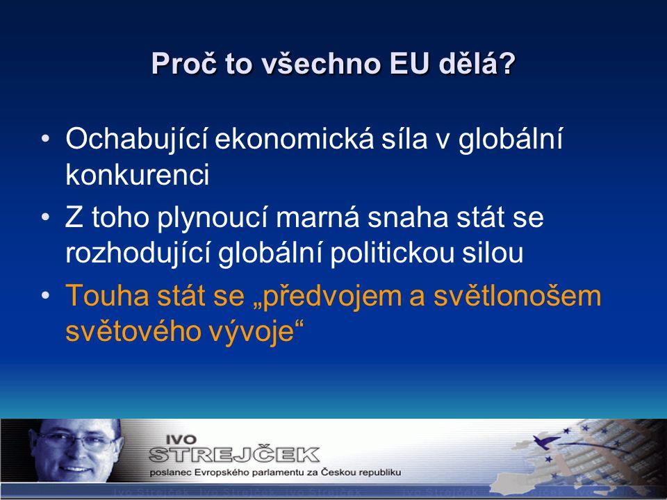 Proč to všechno EU dělá.