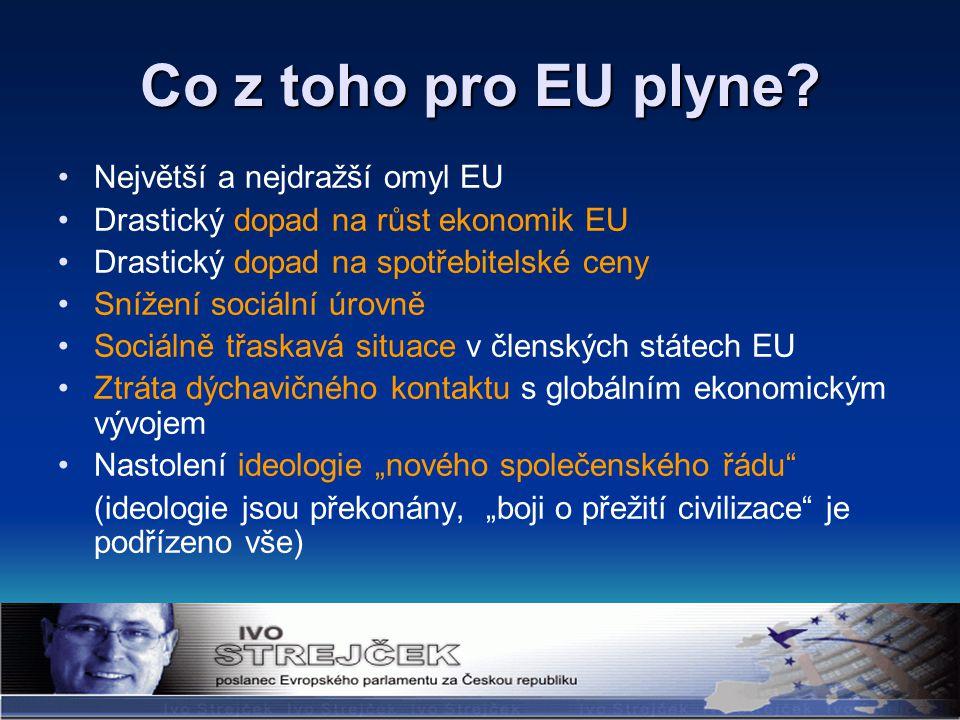 Co z toho pro EU plyne.