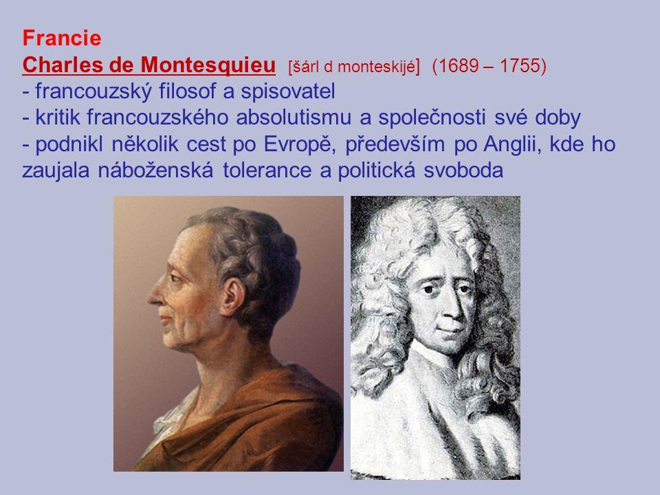 La Bréde poblíž Bordeaux – zde se Charles de Montesquieu narodil