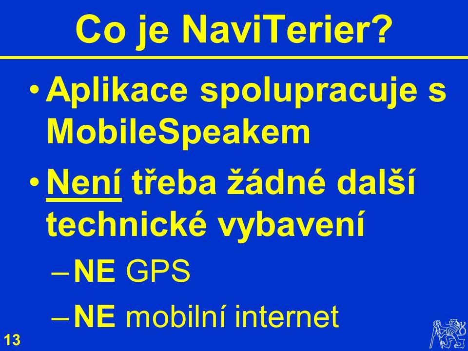 13 Co je NaviTerier.