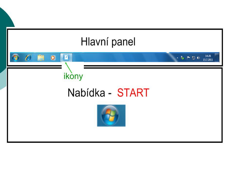 Spouštíme aplikace pomocí kláves. Najdi na klávesnici tlačítko START.