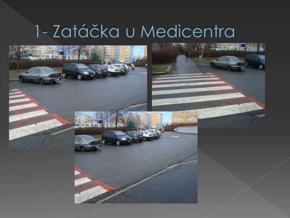 Nepřehlednost kvůli autům, která zde parkují (20x)  Rychlá jízda aut (14x)  Návrhy řešení – Nutné zpomalení vozidel ( 15x v dotazníku, 5x mapy)