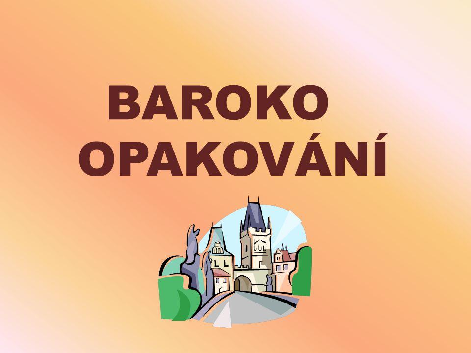 BAROKO OPAKOVÁNÍ