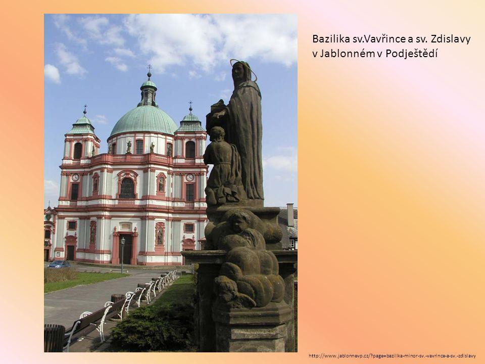 http://www.jablonnevp.cz/?page=bazilika-minor-sv.-vavrince-a-sv.-zdislavy Bazilika sv.Vavřince a sv. Zdislavy v Jablonném v Podještědí