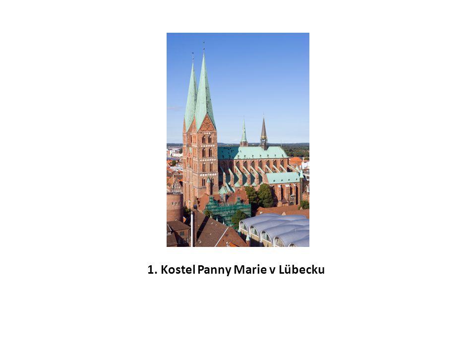 1. Kostel Panny Marie v Lübecku