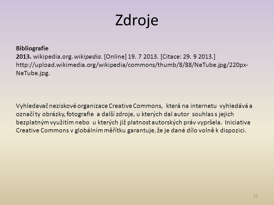 12 Bibliografie 2013.wikipedia.org. wikipedia. [Online] 19.