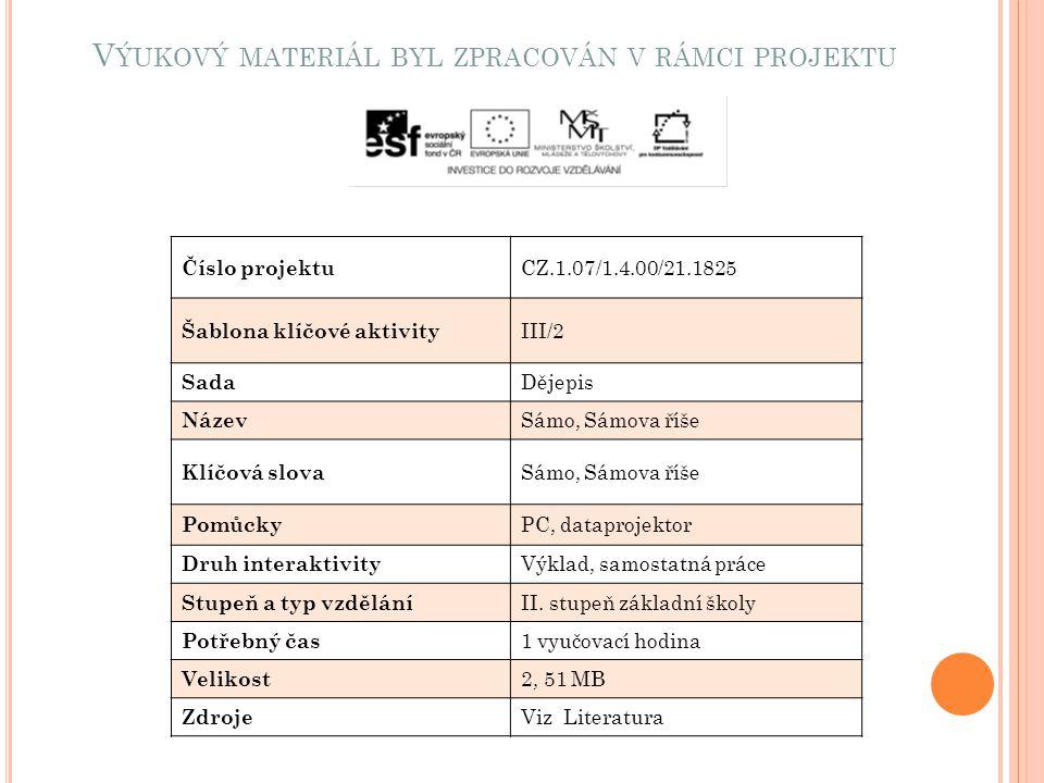 L ITERATURA http://www.valka.cz/clanek_1213.html http://cs.wikipedia.org/wiki/S%C3%A1mova_%C5%99%C3%A D%C5%A1e http://images.google.com/search?tbm=isch&hl=cs&source=hp& biw=1280&bih=654&q=s%C3%A1mova+%C5%99%C3%AD%C 5%A1e&gbv=2&oq=s%C3%A1mova+%C5%99%C3%AD%C5% A1e&aq=f&aqi=g1&aql=&gs_sm=e&gs_upl=1584l10024l0l103 35l18l18l4l9l13l0l193l761l0.5l5l0#hl=cs&gbv=2&tbm=isch&sa =1&q=vrch+rub%C3%ADn&pbx=1&oq=vrch+rub%C3%ADn& aq=f&aqi=&aql=&gs_sm=e&gs_upl=3454l6048l0l6641l10l10l0 l5l0l0l254l960l0.2.3l5l0&bav=on.2,or.r_gc.r_pw.&fp=cfaca78c3 cdef009&biw=1280&bih=654gs_sm=e&gs_upl=3454l6048l0l6641l10l10l0 l5l0l0l254l960l0.2.3l5l0&bav=on.2,or.r_gc.r_pw.&fp=cfaca78c3 cdef009&biw=1280&bih=654 http://images.google.com/search?tbm=isch&hl=cs&source=hp& biw=1280&bih=654&q=s%C3%A1mova+%C5%99%C3%AD%C 5%A1e&gbv=2&oq=s%C3%A1mova+%C5%99%C3%AD%C5% A1e&aq=f&aqi=g1&aql=&gs_sm=e&gs_upl=1584l10024l0l103 35l18l18l4l9l13l0l193l761l0.5l5l0 http://malotridka.ic.cz/3-pomucky/davni-slovane-historicke- obrazky/