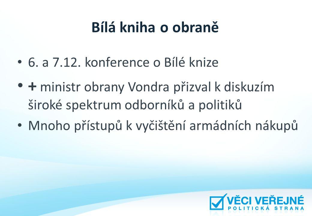 Bílá kniha o obraně 6. a 7.12.