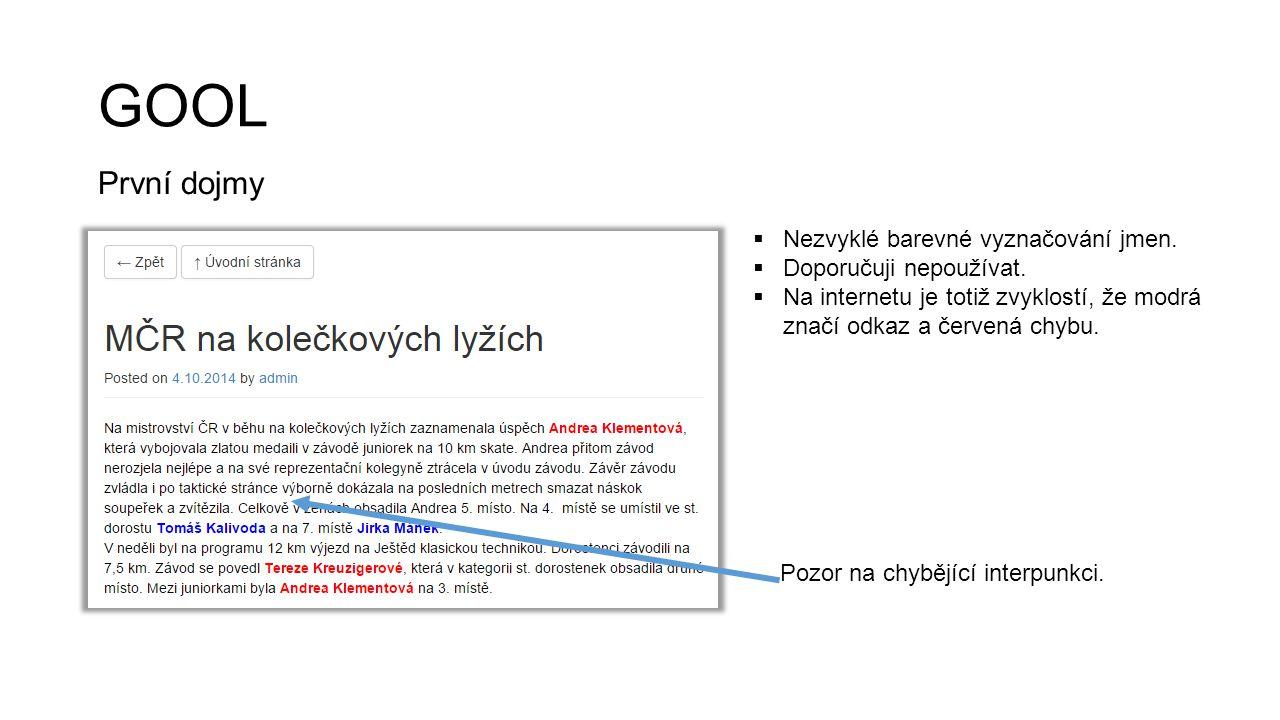 CHRUDIMKA.cz První dojmy  Zajímalo by mě – měříte nějak efektivitu floatingu článků na hlavní stránce.