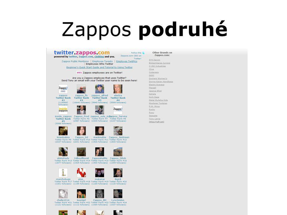 Zappos podruhé