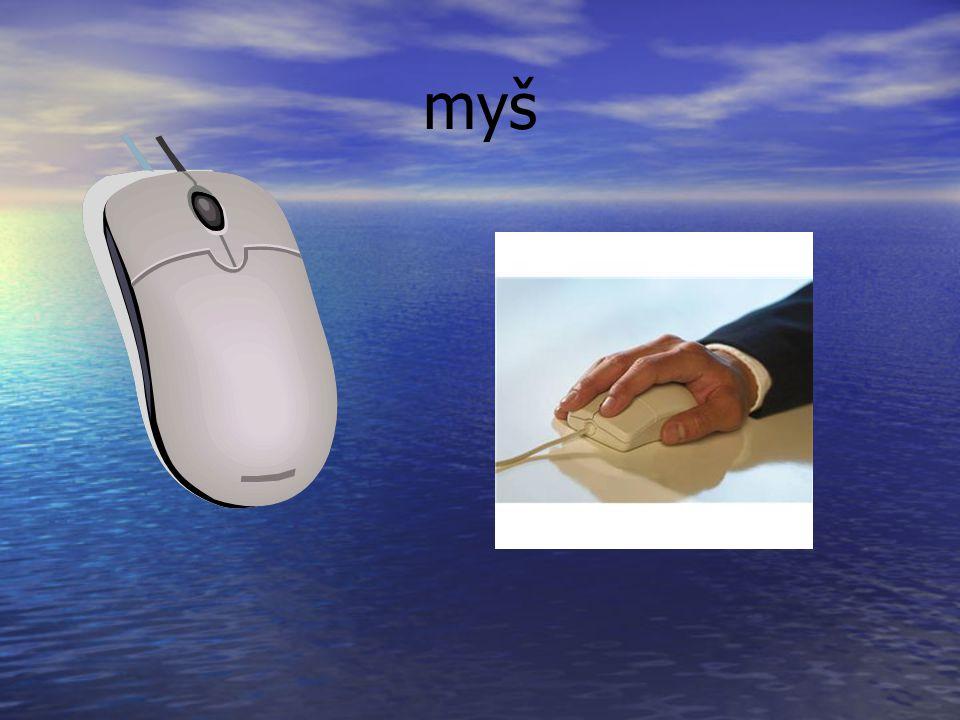 monitor počítač myš klávesnice Počítač