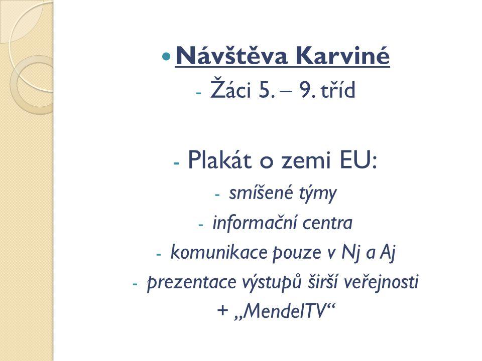 Návštěva Karviné - Žáci 5. – 9.