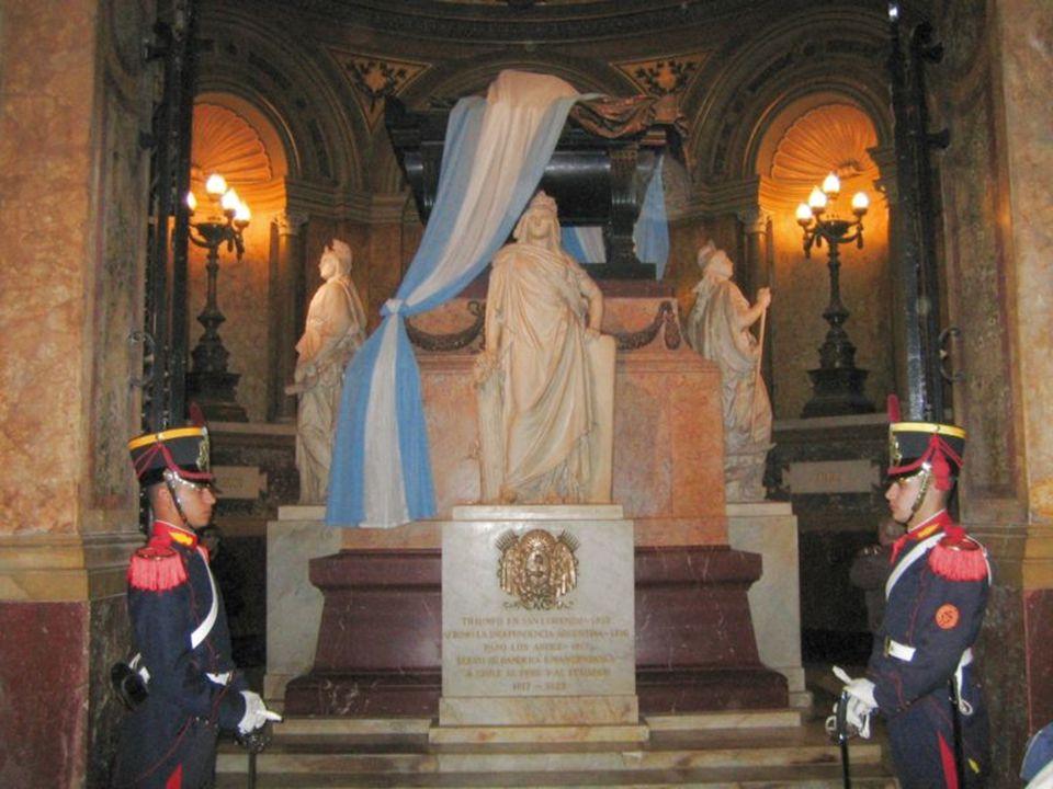 San Martínova hrobka v katedrále v Buenos Aires