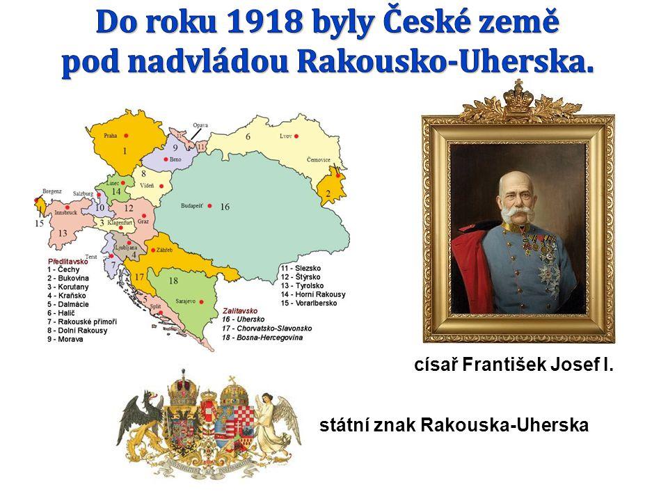 císař František Josef I. státní znak Rakouska-Uherska