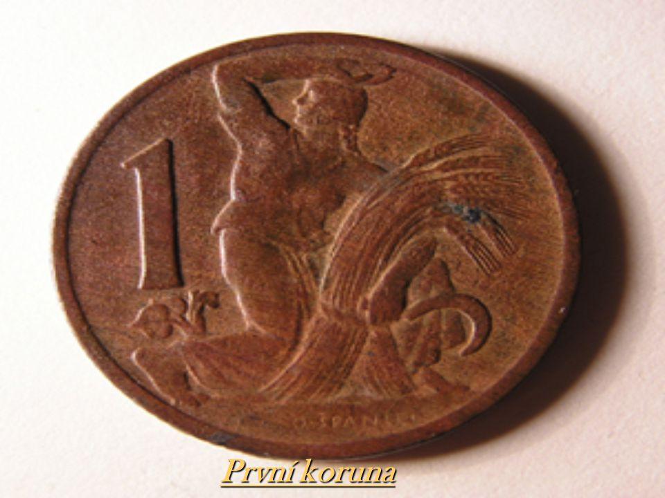 První koruna