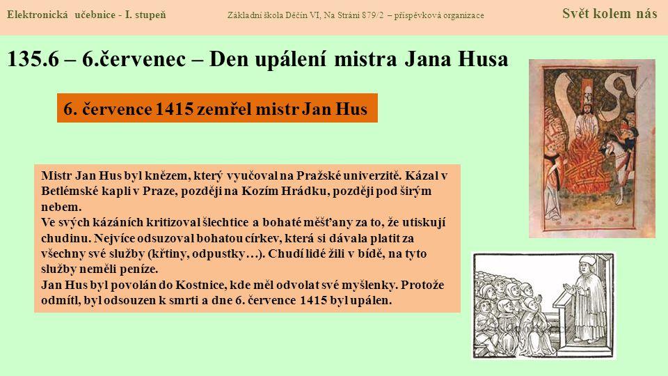 135.7 – 28.září – Den české státnosti Elektronická učebnice - I.