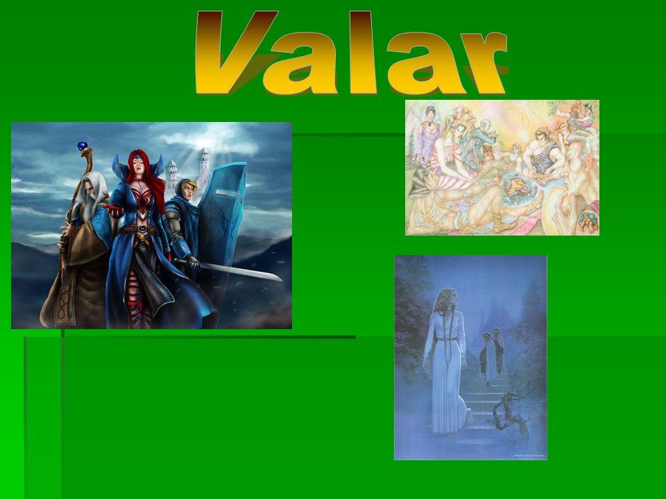  Když ještě neexistovalo Eä (Vesmír), Eru vytvořil Ainur, andělské duchy.