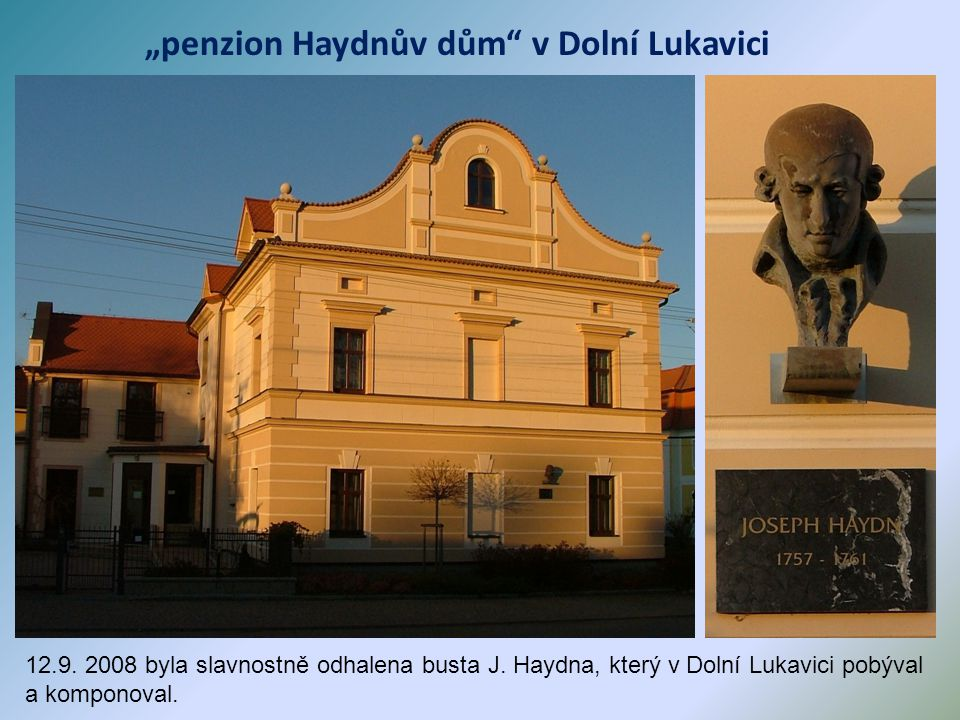 Dolní Lukavice - zámek