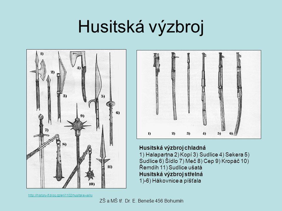 Konec válek Husité však nebyli jednotní, mezi umírněnými a radikály došlo k bitvě Poslední bitva se odehrála v roce 1434 nedaleko obce Lipany Zvítězili umírnění Husité, kteří se s králem Zikmundem chtěli domluvit http://www.husitstvi.cz/pic/g13-2.jpg ZŠ a MŠ tř.