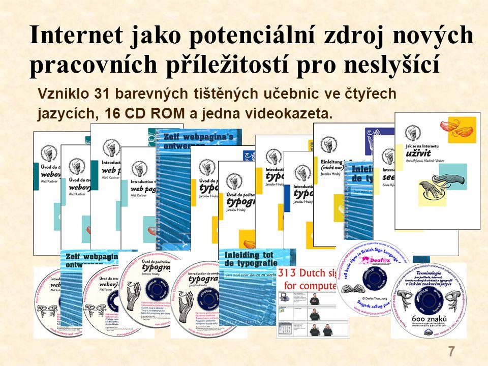 38 Miroslav Hanzlíček V době učení studoval tři roky na Odborné škole pro neslyšící v Plzni a také dva semestry Odborné školy polygrafické.