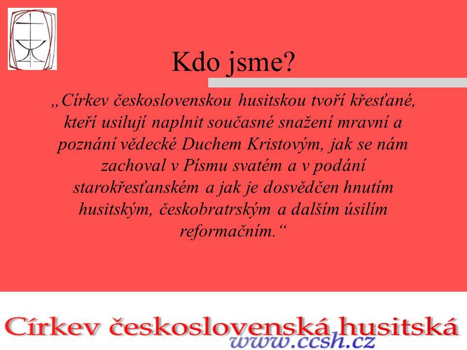 Církev československá husitská (CČSH) je křesťanská církev reformačního charakteru.