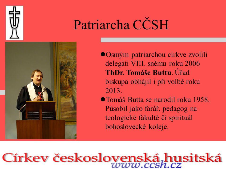 Patriarcha CČSH Osmým patriarchou církve zvolili delegáti VIII.