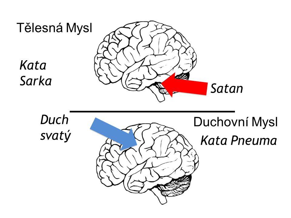 Kata Pneuma Kata Sarka Tělesná Mysl Duchovní Mysl Duch svatý Satan