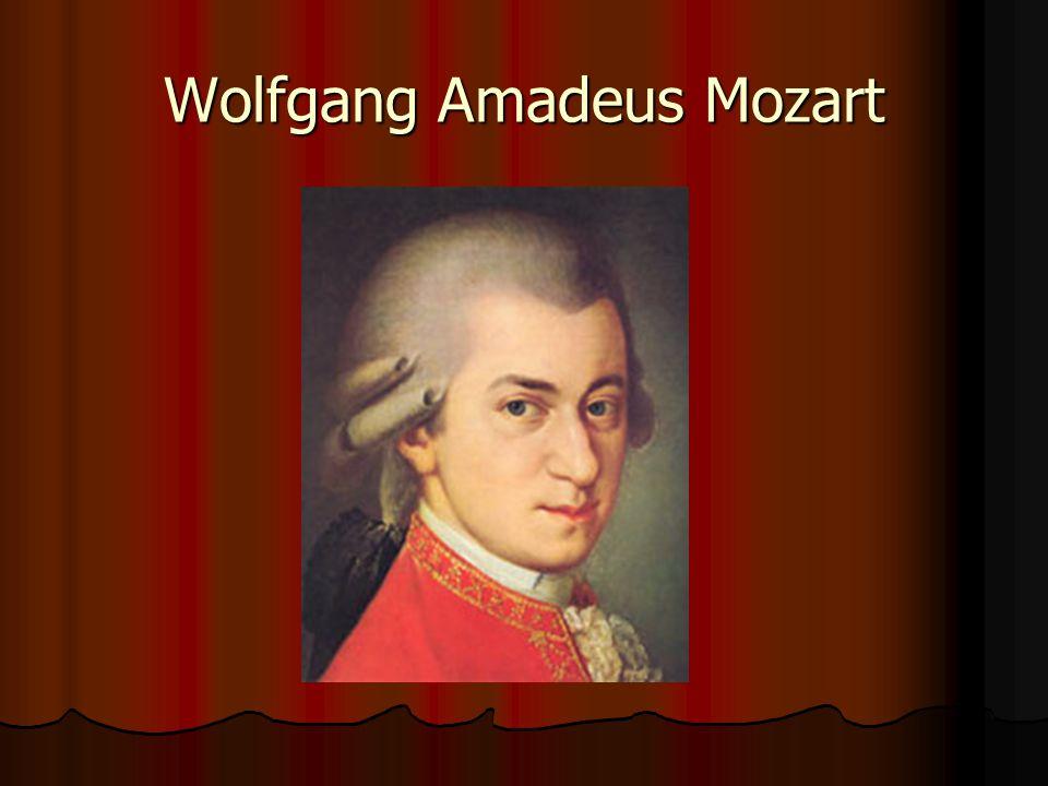 Životopis narozen 27.ledna 1756 v Salzburku narozen 27.