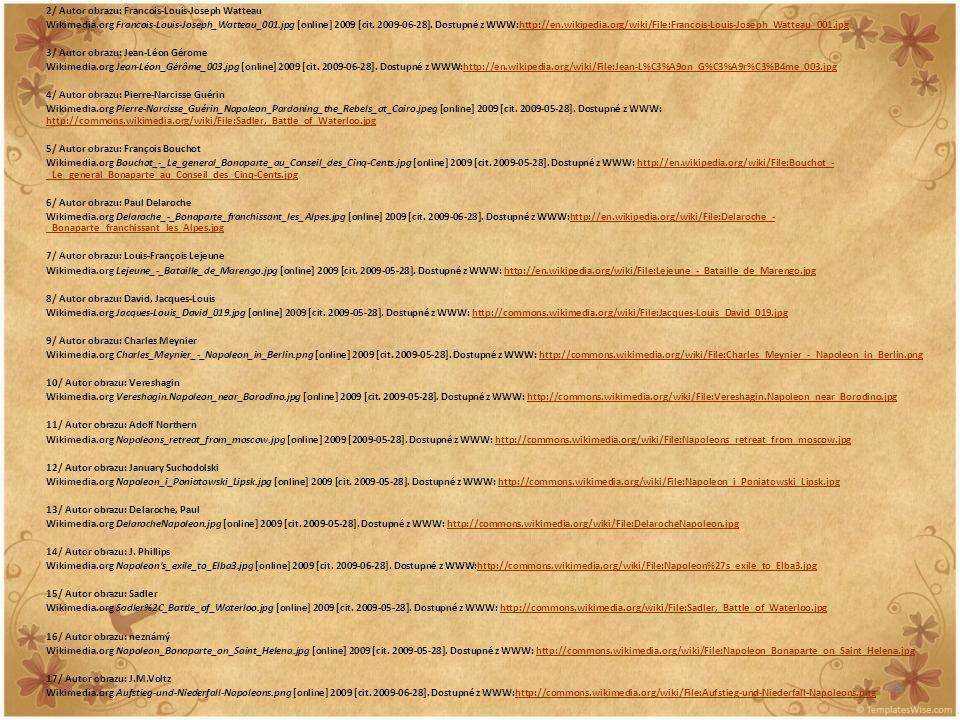 18 2/ Autor obrazu: Francois-Louis-Joseph Watteau Wikimedia.org Francois-Louis-Joseph_Watteau_001.jpg [online] 2009 [cit. 2009-06-28]. Dostupné z WWW: