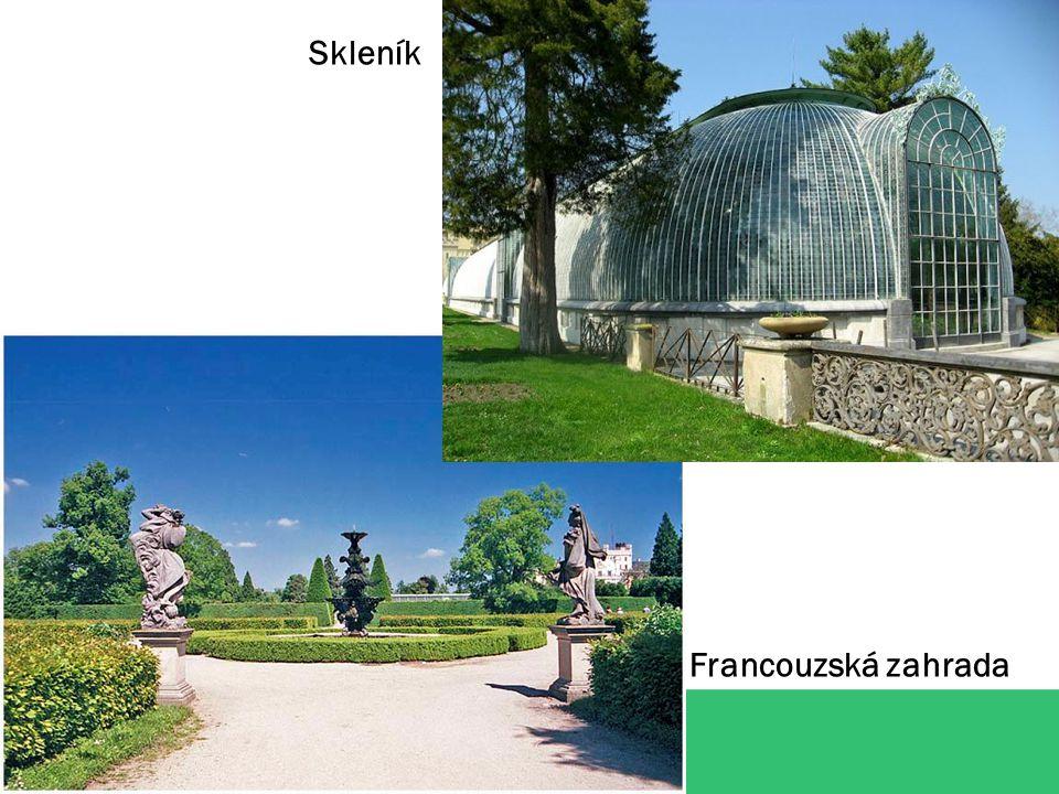 Skleník Francouzská zahrada