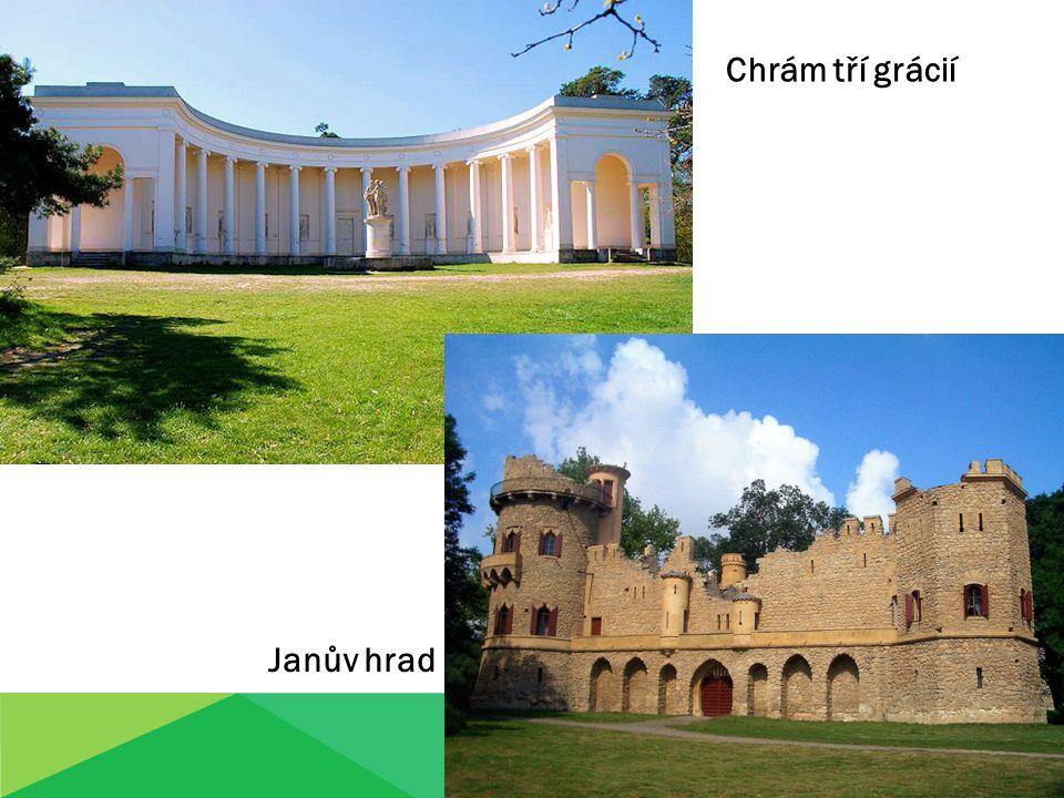 Chrám tří grácií Janův hrad