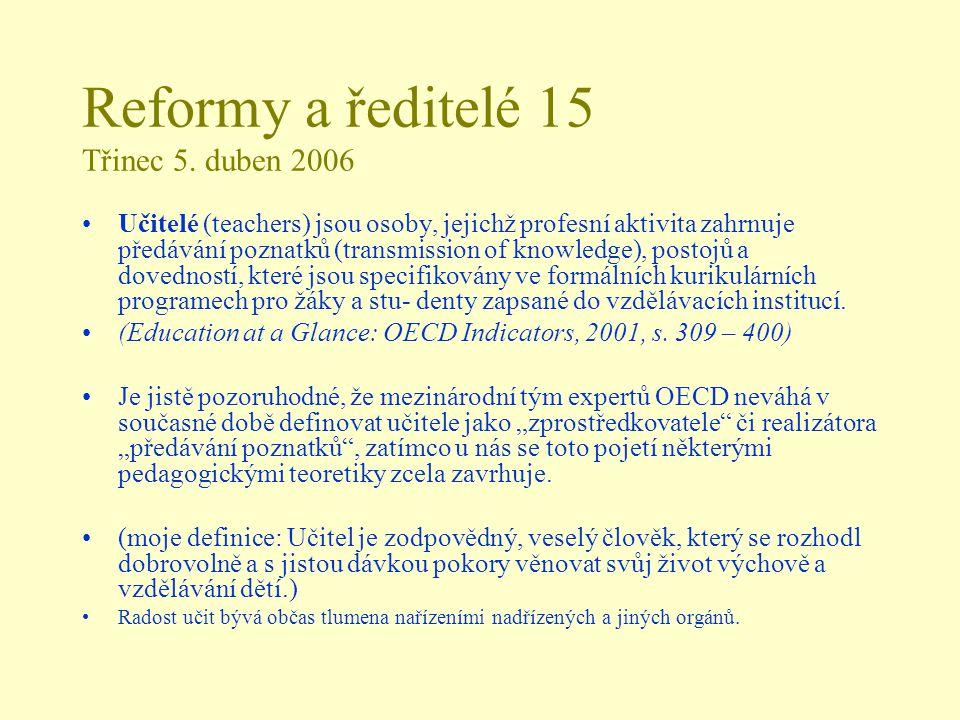 Reformy a ředitelé 15 Třinec 5.