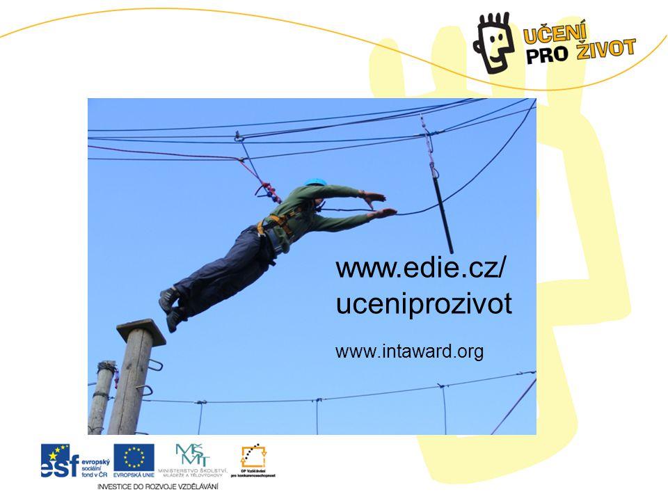 www.edie.cz/ uceniprozivot www.intaward.org