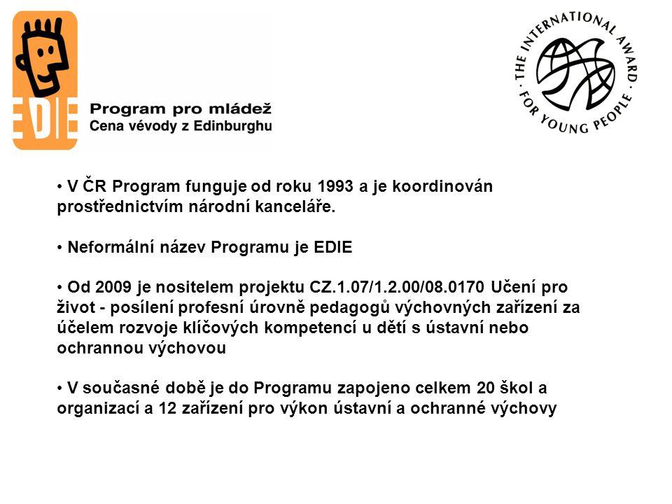 V ČR Program funguje od roku 1993 a je koordinován prostřednictvím národní kanceláře.
